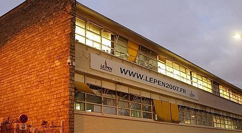 Le prix du bâtiment de 5200 m2, occupé par le parti d'extrême droite depuis 1994, devrait osciller entre 12 et 15millions d'euros.