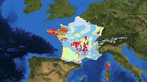 Bientôt, la carte géologique de la Terre sur Internet