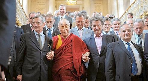 Les faux amisdu dalaï-lama