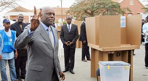 Le scrutin législatif a valeur de test de popularité pour le président angolais Dos Santos (vendredi à Luanda) avant la présidentielle de 2009.
