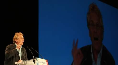 «Je n'ai pas l'âme d'un sauveur. Je veux être le poisson-pilote des Verts européens», a lancé dimanche au «Grand Jury» Daniel Cohn-Bendit (ici à Montpellier en mai 2007).