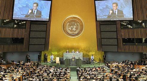 À l'ONU, Nicolas Sarkozy a plaidé pour l'établissement d'un «capitalisme régulier et régulé où des pans entiers de l'activité financière ne sont pas laissés à la seule appréciation des opérateurs de marché».