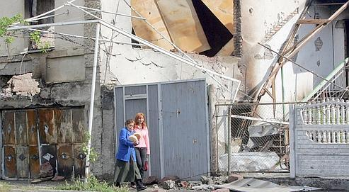 Près de deux mois après le conflit, les habitants de la zone frontalière avec l'Ossétie du Sud redoutent toujours les pillages.