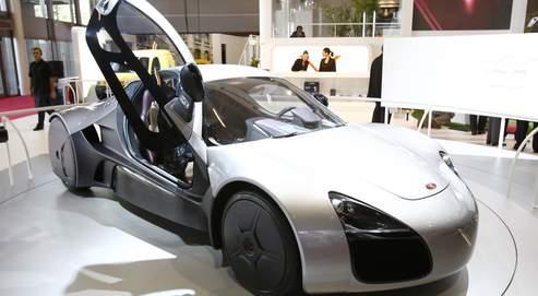 Présentée au Mondial de l'Auto, la Venturi Volage est équipée de la nouvelle roue, véritable concentré de technologie.