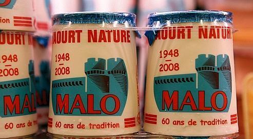 La Laiterie de Saint-Malo réalise 30% de son chiffre d'affairesavec ses yaourts Malo et autres fromages frais.