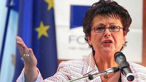 La ministre a eu la quasi-totalité de la majorité et toute l'opposition contre elle. Crédits photo : Fife/AFP