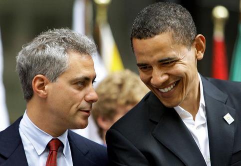 Rahm Emanuel est un ami proche de Barack Obama.