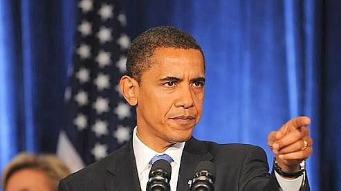 Barack Obama lors de sa première conférence de presse, vendredi dernier, à Chicago. (AFP)