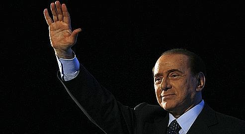 Silvio Berlusconi a gagnéun surnom: «César»