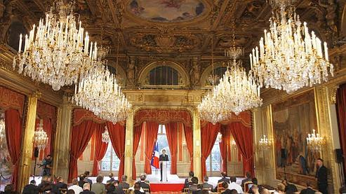 Le budget de la présidence de la République augmente de 9,1% en 2008. Crédit photo : Le Figaro.