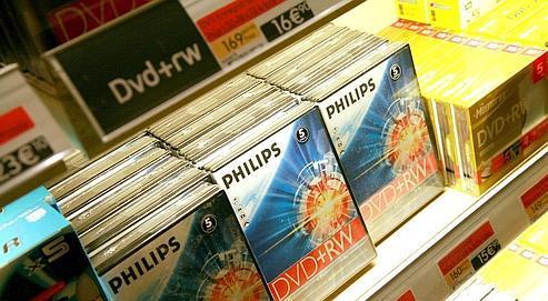 Philips arrête la fabricationde DVD aux États-Unis