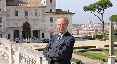 Fr d ric mitterrand le m c nat s 39 impose for Jardin villa medicis rome