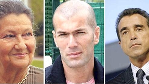 Simone Veil, Zidane et Lagardère décorés