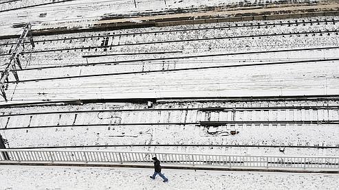 Circulation chaotique au Rove, près de Marseille. (Claude Paris / AP)