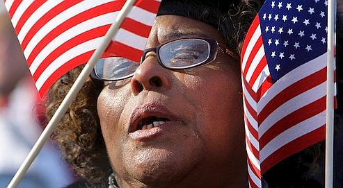 Jossie a fait le déplacement du Mississippi pour assister, mardi, à l'événement à Washington.