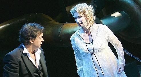 Lucas Lombardo et Annick Massis dans Les Contes d'Hoffmann.