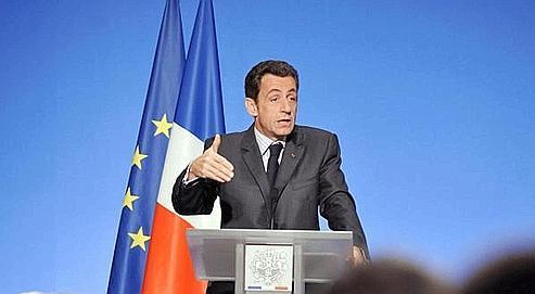 Sarkozy donne le coup d'envoi des européennes