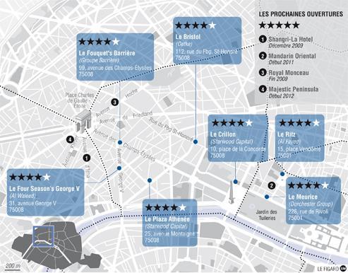 Les palaces en piste pour la cinqui me toile - La vie dans les palaces parisiens ...