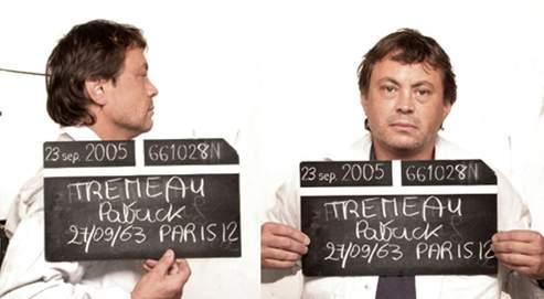 Patrick Trémeau, lors de sa troisième arrestation en septembre 2005.