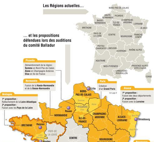 Le comité Balladur dessinela France de 2014
