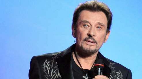 Johnny Hallyday samedi aux Victoires de la Musique.