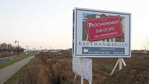 Jusqu'au 31 décembre 2009, le montant des prêts à taux zéro (PTZ) est doublé pour favoriser les achats immobiliers. (François Bouchon/ Le Figaro)