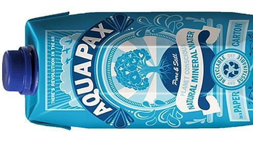 Aquapax, la petite brique d'eau qui veut faire un carton