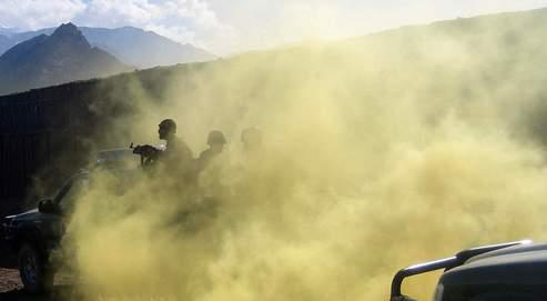 Un exercice d'entraînement des forces afghanes organisé par l'Otan.