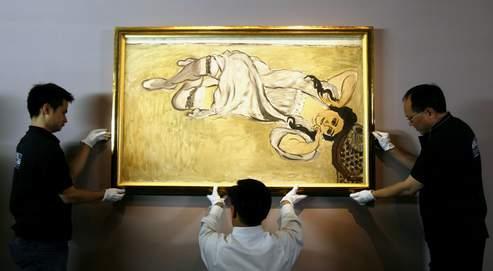 Installation d'un tableau de Matisse lors d'une exposition organisée par le Centre Pompidou au Musée d'art de Hongkong en 2006. Le futur Institut français devrait privilégier les partenariats avec les institutions locales et disposer d'une plus grande visibilité.