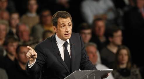 «Rien ne serait pire qu'un G20 a minima. Je préfère le clash au consensus mou», assure Nicolas Sarkozy (ici le 24 mars à Saint-Quentin).