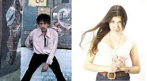 Bob Dylan, de retour sur scène, et Alela Diane, chef de file de la nouvelle scène de folk (crédits: Sony Music, Agora Record).