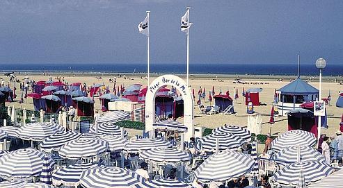 Deauville, la plus parisienne et la plus américaine des stations balnéaire de la côte normande. (DR)