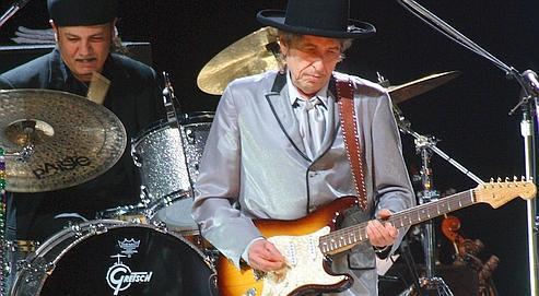 Bob Dylan n'est pas prêt pour le musée ni pour la retraite. (M. Correia/Camerapress/Gamma/Eyedea Presse