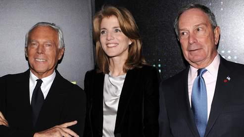 Caroline Kennedy (au centre).