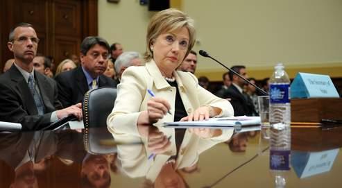 Hillary Clinton, mercredi, devant la commission des Affaires étrangères de la Chambre des représentants à Washington.