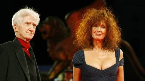 Alain Resnais et Sabine Azema.
