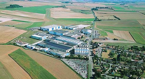 EADS investit dans les composites à Méaulte