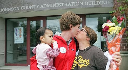 USA : l'opinion se convertit peu à peu au mariage gay