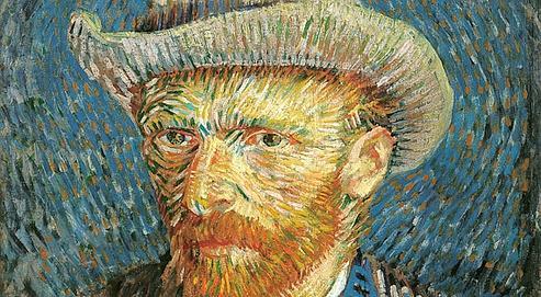 Autoportrait de Van Gogh. ((1887/88) (AFP/Van Gogh Museum)