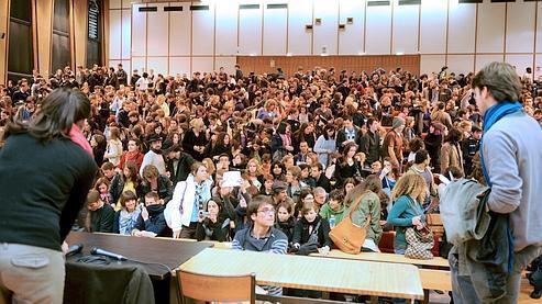 L'université de Bordeaux III, qui compte 14.500 étudiants, est occupée depuis le 9 mars.