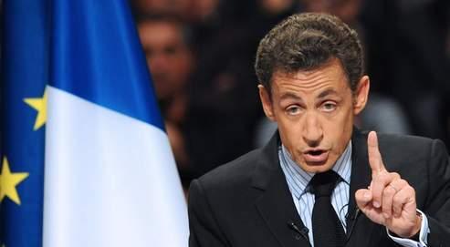 Nicolas Sarkozy à Nîmes, le 6 mai.