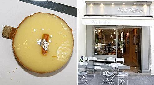La tartelette de la pâtisserie Carl Marletti est la lauréate de notre classement.