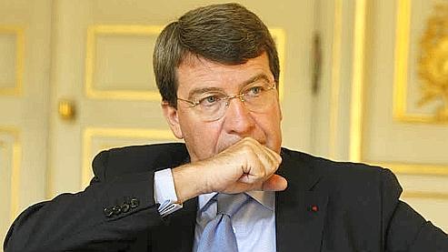 Le ministre de l'Education nationale, Xavier Darcos. (Sébastien Soriano / Le Figaro)