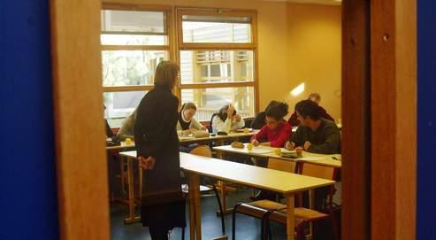 Chaque année, 120000 étudiants s'inscrivent aux concours d'enseignant, et seuls 15000 sont admis dans un Institut universitaire de formation des maîtres (ici, l'IUFM de l'académie de Créteil).