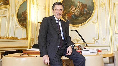 Le premier ministre dans son bureau de Matignon. Marmara/Le Figaro
