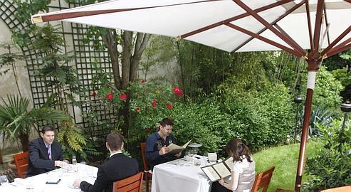 Les nouvelles terrasses : Le Jardin d\'Ampère