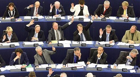 Un bon tiers des députés qui viennent à Strasbourg ne participe pas activement aux travaux.