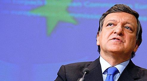 José Manuel Barroso, mercredi, devant la Commission européenne, à Bruxelles.