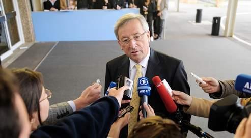 Jean-Claude Juncker, lundi à Luxembourg, a manifesté son souhaitde rester à la tête de l'Eurogroupe.