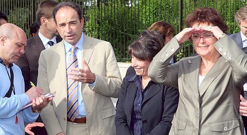 Copé réunit les ministres de la Ville d'hier et d'aujourd'hui